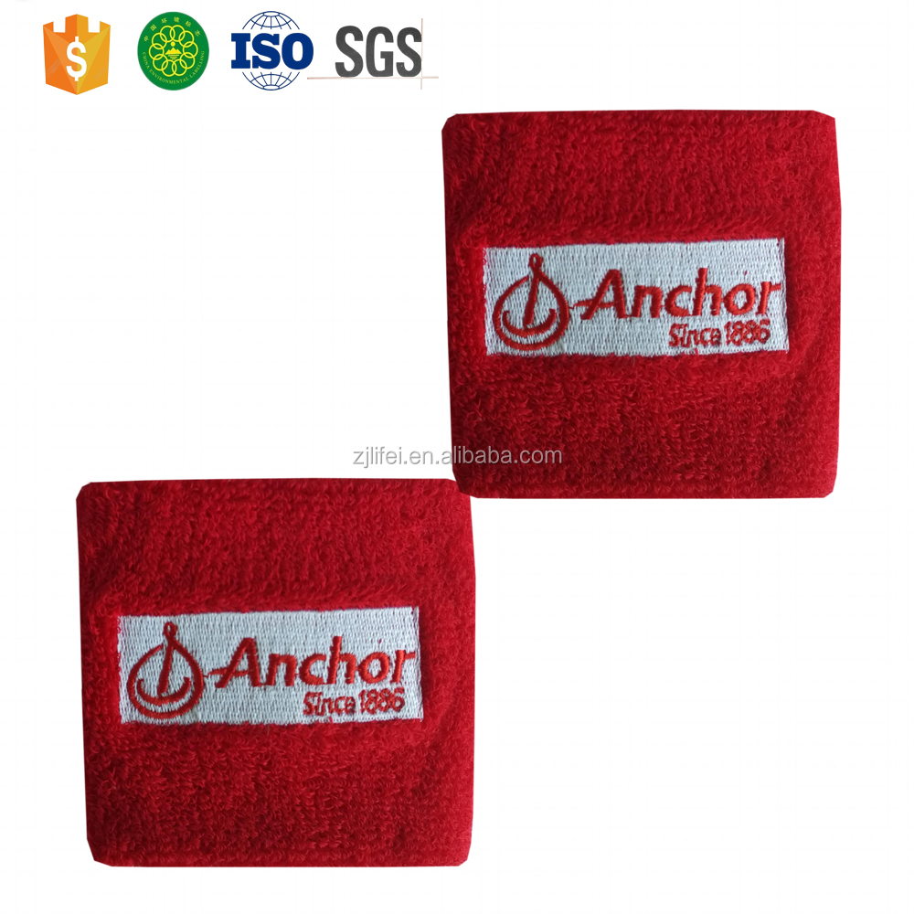 custom tennis cotton Sport towel sweatband