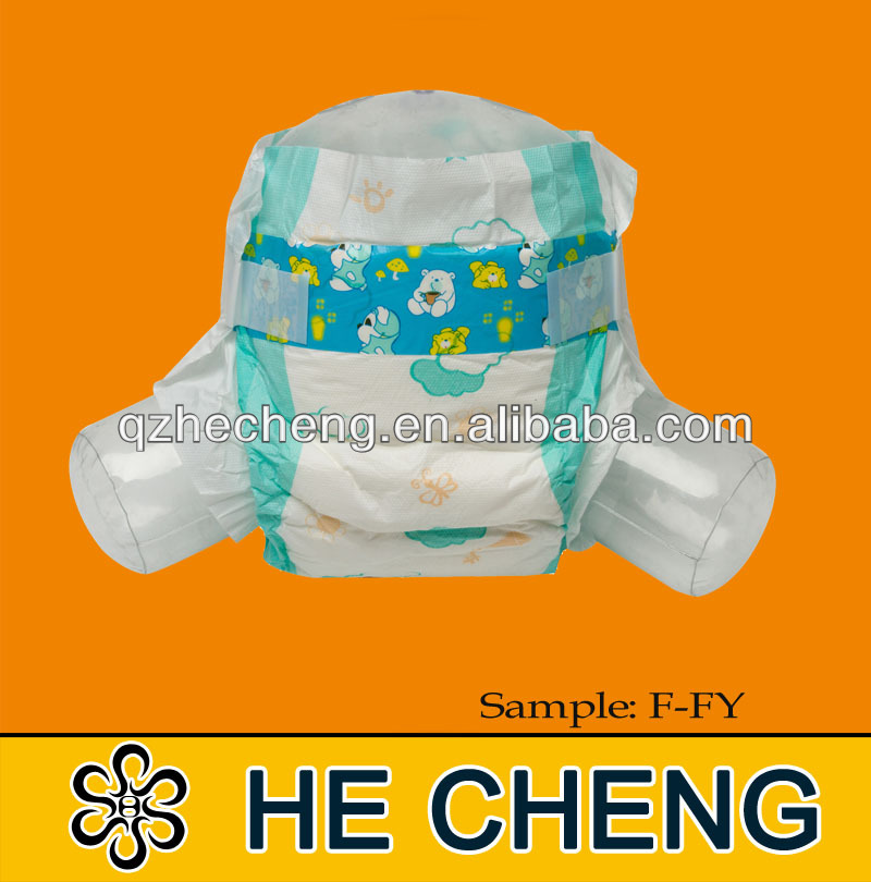 Chinese Basic level PE baby fine diapers