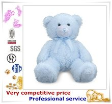 Top Quality Cute Animals Plush Toy little blue bear