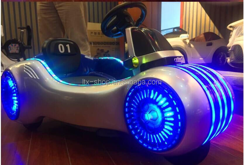 Super Cool Electric Chopper Motorcycle With LED Flashing Light Music Early Educational Electric Motorcycle For Children