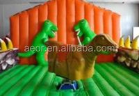 newest product mechanical dinosaur games, inflatable mattress dinosaur for kids ,dinosaur games children
