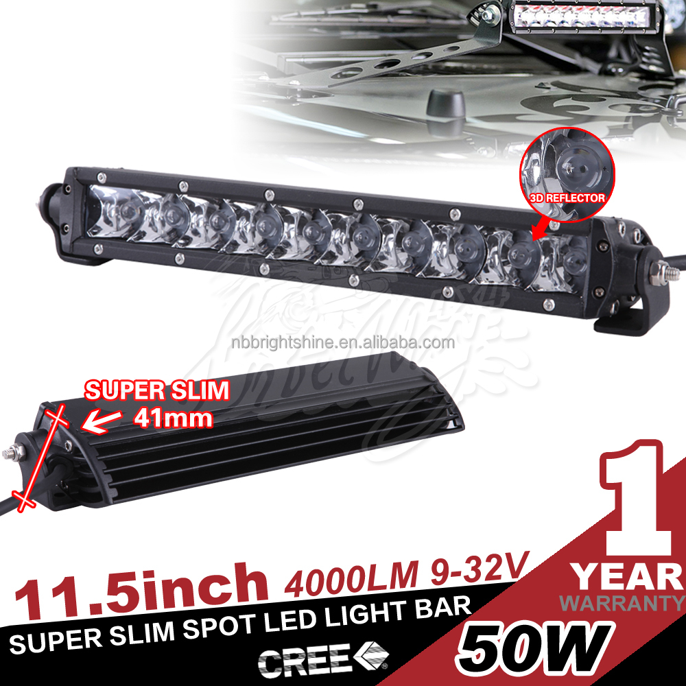 Offroad led light bar 50w 11.5inch