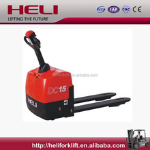 Top1 Manufacturer Heli 1.5 Ton small electric pallet truck
