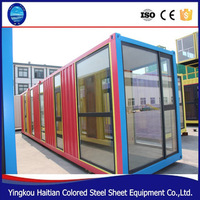 2016 pop hot sale mobile kitchen container/ modular homes/ china prefabricated homes