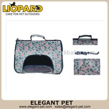 Newest hotsell pink foldable dog carrier