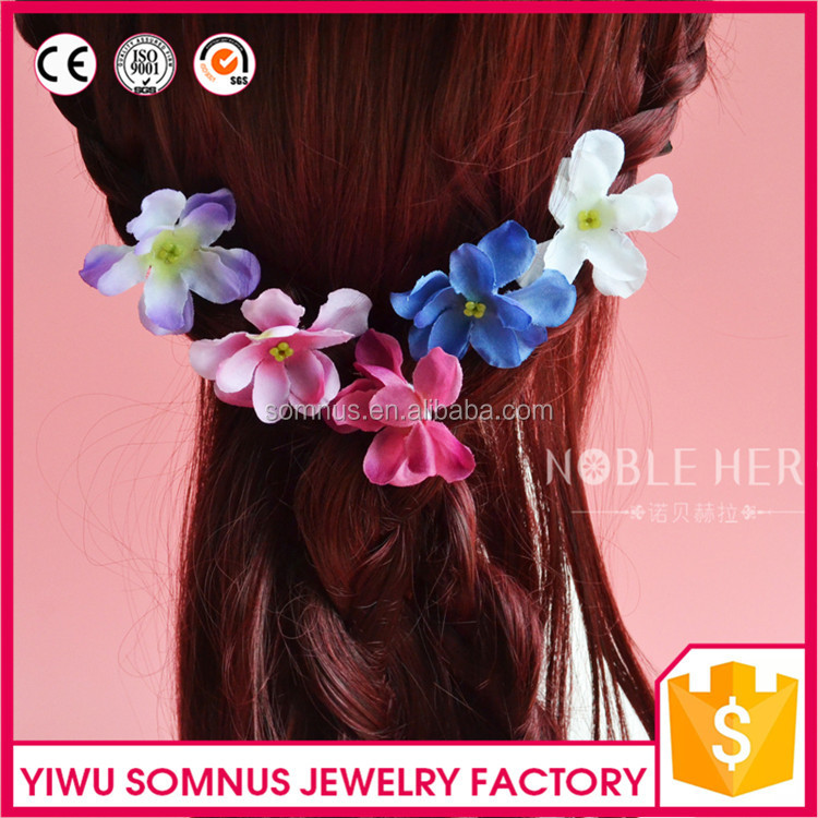 Wholesale Jewelry Fancy Charlotte Flower <strong>U</strong> Shaped Hair Pin