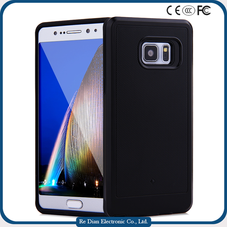 Durable Hybrid Brushed Armor Cell Phone Case For Samsung Galaxy Note 7
