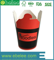 Disposable wholesale take away noodle paper box