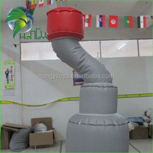 Advertising Display Outdoor Giant Inflatable Flying Helium Car Replica Balloon