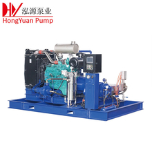 high efficiency high pressure hydro jetting cleaning machine