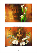 Custom wholesale spiritual god canvas oil printing for religion faith
