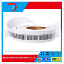 Hot Cheap EAS RF Soft Security digital price tag Paper sticker Label 8.2MHz for supermarket retail
