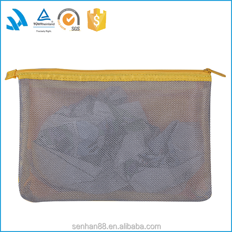 Fashion Polyester Cosmetic Makeup Bag Travelling With Compartments