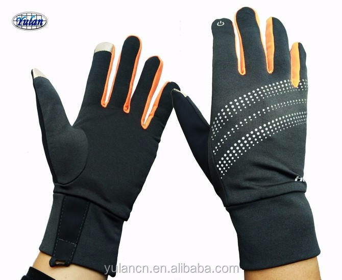 Yulan CG214 thin type running gloves touchable