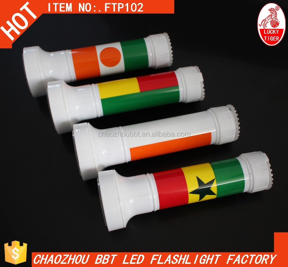 FTP401 Factory Outlet Plastic 9led Flashlight