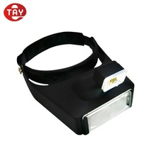 Double lens Binocular Magnifier Headband Wearing Magnifying Glass