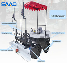 Top Quality electric start Ride-on Laser Screed Concrete for Sale (SJZP-200)