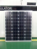 60W 18V CE Certificated Positive Tolerance PV Solar Panel
