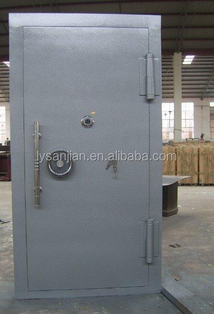 Used Vault Doors : Sj strong room used steel bank vault doors for sale