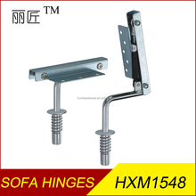 Reclining sofa bed headrest spring hinges folding sofa bed hinges