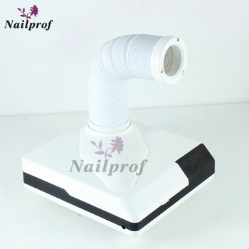 Nailprof Strong Power 60W  3 in 1 Nail Dust collector with Catheter &  Replaceable Filter & Spotlight