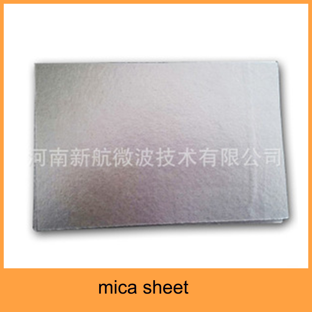 muscovite laminate mica sheet for using microwave