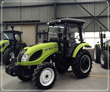 China new technology 60hp cheap price farm wheeled tractor