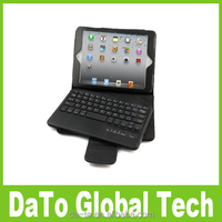 Free DHL Leather Stand Case with Removed Bluetooth Keyboard For iPad Mini 3 2 1