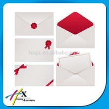 2014 High Quality Paper Envelope with Custom Design Fancy Price