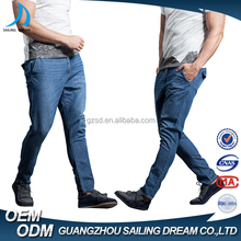 China jeans manufacturers wholesale low price cotton washed jogger jeans straight skinny branded jeans for men