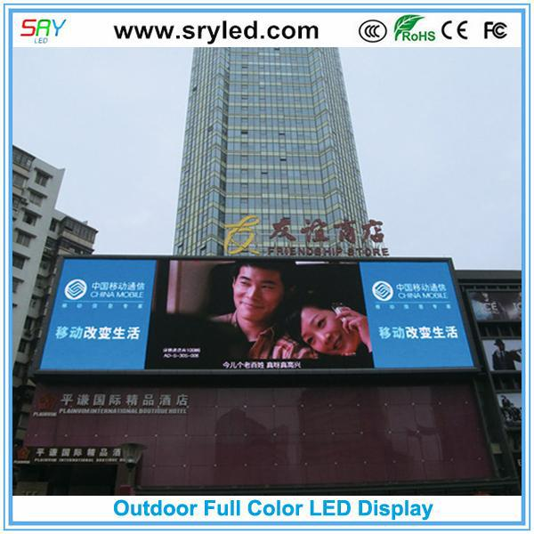 SRYLED Hot selling advertising screen truck with great price