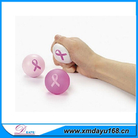 World Activities Wholes New Design Breast Cancer Pu stress Ball