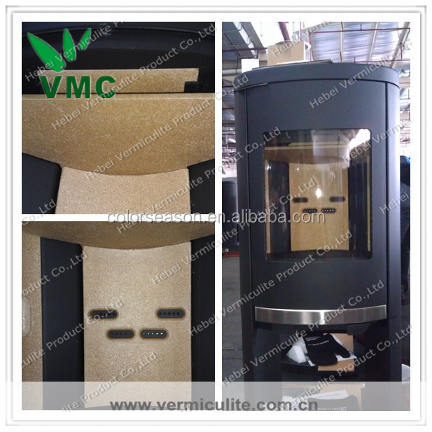 Vermiculite Fireproof Board : Wood burning stove vermiculite fireproof board buy