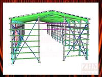 Pre-engineered 3D Shed Drawing