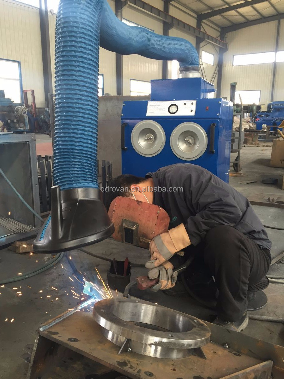 Welding Fume Catcher, Centralized Weld and Grinding Workshop Dust Collector