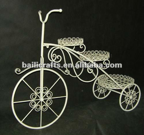 tricycle flower pot stand