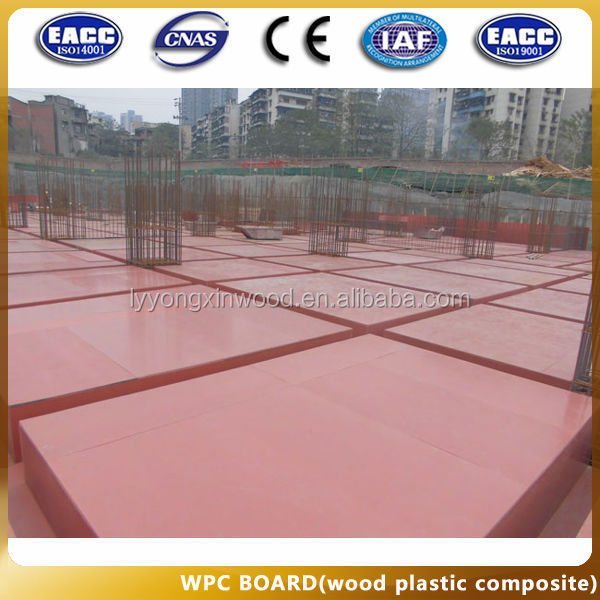 environmental protection green materials-wpc building usage foam board