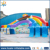 Huale Colorful Inflatable Rainbow Water Slide For Sport Games/high nflatable water slide