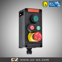 IECEX & ATEX certified full plastic explosion proof local control switch