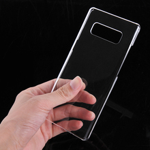 Miroos Black Mobile phone cover hard pc case for Samsung galaxy note 8 case