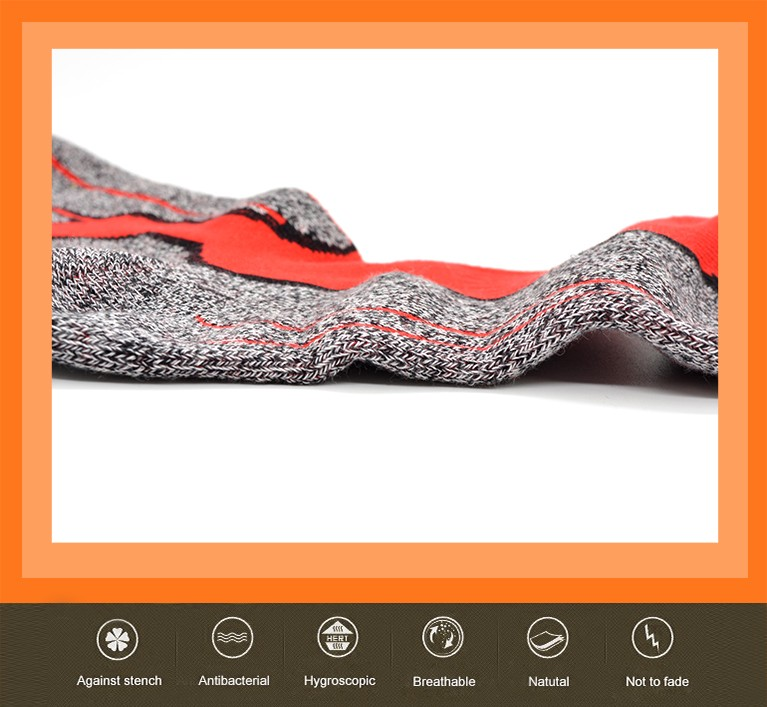 manufacturer travel cotton outdoor socks mens