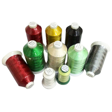 spun polyester sewing thread yarn 120d/2 polyester color thread 108d 100% polyester royal embroidery thread