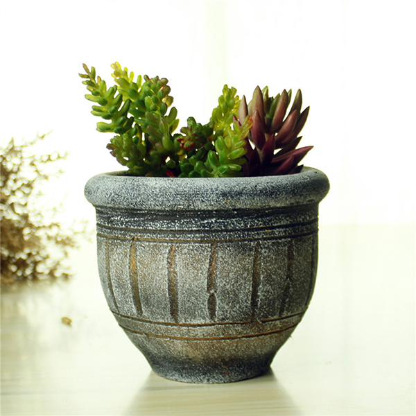 High quality exquisite maya handmade custom cemetery flower pot