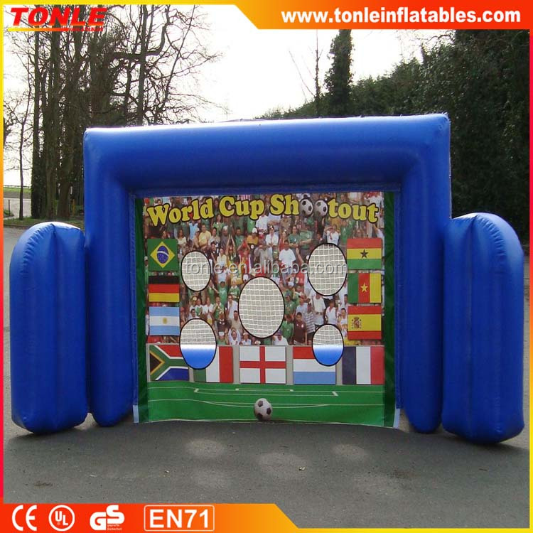 Sealed Inflatable Football Goal/Inflatable football shootout/football toss