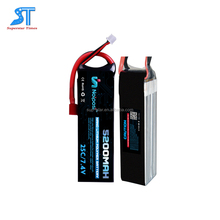OEM 50C 7.4v RC helicopter cars battery 5000mah 2S lipo battery pack