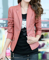 New Arrival Fashion Formal PU Leather Suit For Women