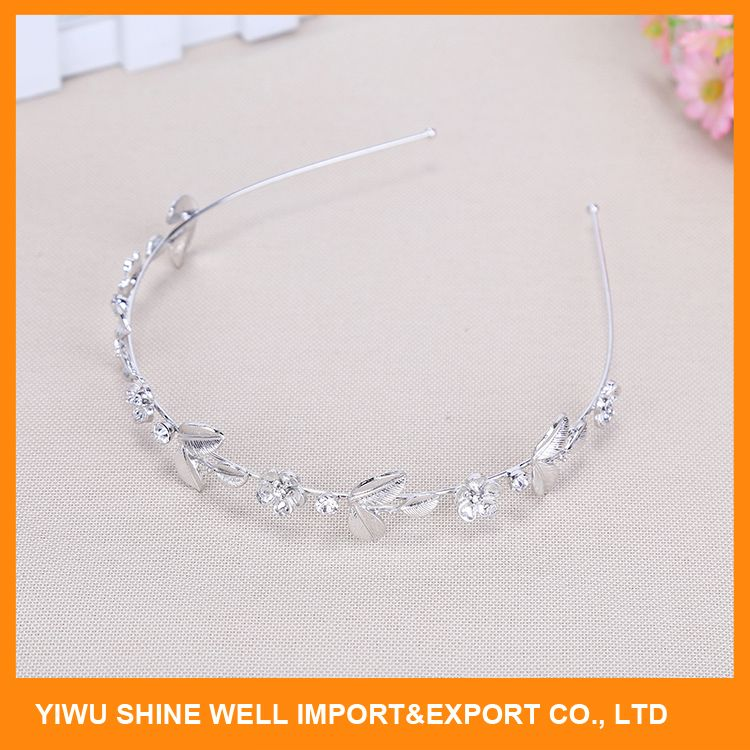 Best Prices super quality sequins flower metal headband with reasonable price