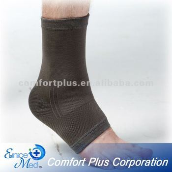health medical Bamboo charcoal Knitted ankle support