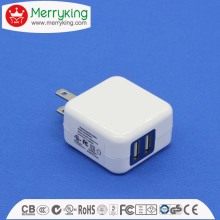 USB portable charger JP plug multiple output power adapter 5V2.1A PSE Japan USB charger