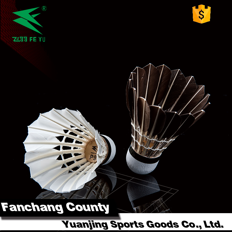 China factory gym club training use feather badminton shuttle cock